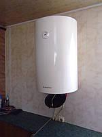 Установка бойлеров электрических на кухне. Монтаж водонагревателей над мойкой и под мойку в Луцке