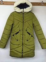 Куртка зимняя женская ''Виктория'' (33) Хаки, 48