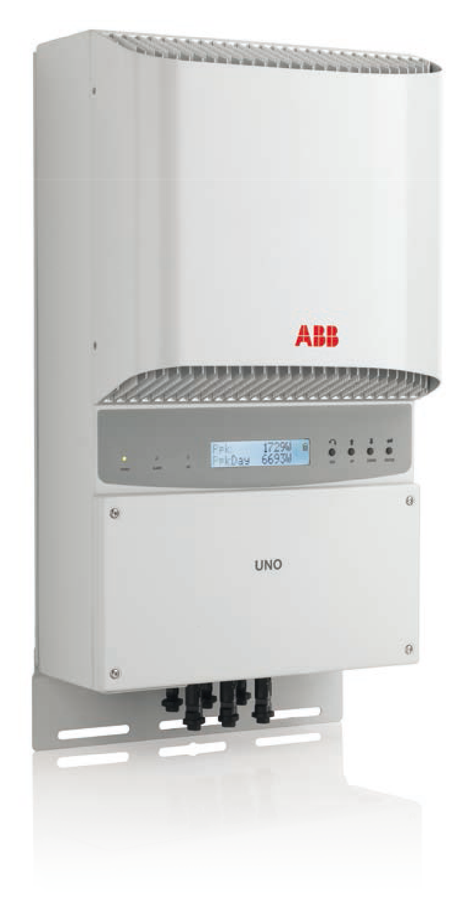 Инвертоp сетевой ABB UNO-DM-5.0-TL-PLUS-B (5 кВт, 1 фаза /2 трекера)