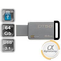 USB Flash 64GB KINGSTON DataTraveler DT50 3 USB3.1 (DT50/64GB) Black