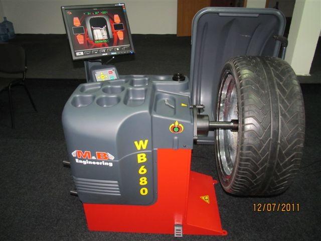 Станок балансировочный MB WB 680,  автоматический, «ALUDATA»