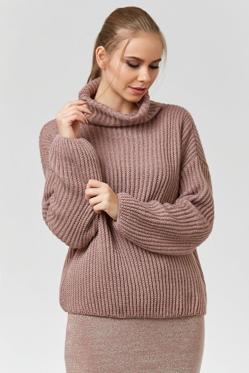 женский свитер Oversize со спущенным рукавом цена 450 грн купить