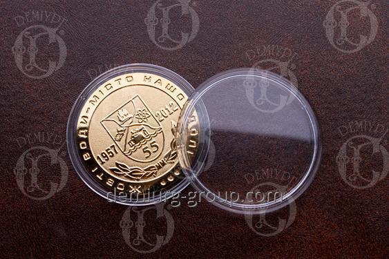 Медаль наградная в капсуле