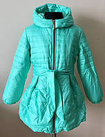 Куртка на девочку,демисезонная, с флисом, фото 1