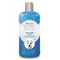 Шампунь для собак и кошек Veterinary Formula Snow White Shampoo со светлой шерстью, 503 мл