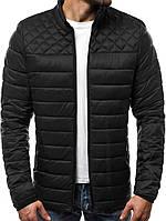 Мужская демисезонная куртка ромб