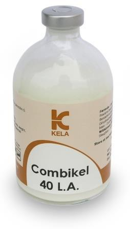 Комби-кел 40 Л.А., 100 мл (Combi-kel 40 L.A.) - Суспензия для инъекций (Kela, Бельгия)