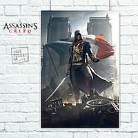 Постер Кредо Асассина, Assassins Creed. Размер 60x42см (A2). Глянцевая бумага
