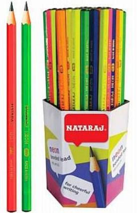 Олівець технічний Neon НВ 201108007 загостр.Nataraj, фото 2
