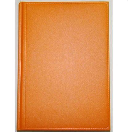 Діловий щоденник Metaphor недатований, 176арк., помаранчевий, А5, фото 2