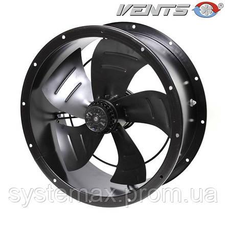 ВЕНТС ВКФ 4Е 630 (VENTS VKF 4E 630) - осевой канальный вентилятор , фото 2