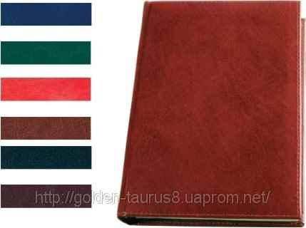 Діловий щоденник Brisk Office, Sarif, А6, 176 арк., недатов., темно-бордовий, ЗВ-15, фото 2