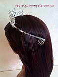 Корона для девочки под серебро,  высота 5 см., фото 6