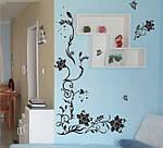 Самоклеющаяся  наклейка  на стену Угловой ажур  (150х76см), фото 7