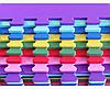 Коврик - Пазл для детской. Теплый, мягкий пол. 48х48см, толщина 9мм Украина. Цена за шт., фото 4