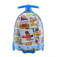 Самокат-чемодан StreetGo Kids 4 Wheels Garfield, фото 1