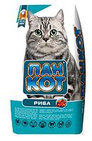 Корм для кішок Пан Кіт Риба, 10 кг