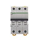 Автоматический выключатель Schneider iK60N 3P 40A C, фото 2