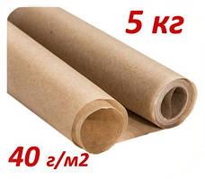 Подпергамент пищевой в рулоне 5 кг 40 г/м2