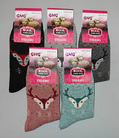 Носки женские ангора за 1 пару  39-42 раз GNG, фото 1