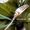 Дитяча срібна виделка Мишка, фото 7