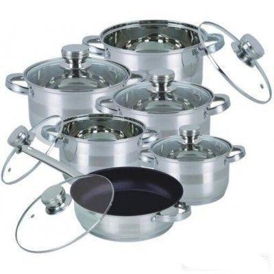Набор посуды Bohmann BH 1232 MRB 12 предметов