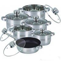Набор посуды Bohmann BH 1232 MRB 12 предметов, фото 1