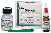 Мерон (Voco), Meron, стеклоиономер для фиксации вкладок коронок мостиков, 35г + 15мл