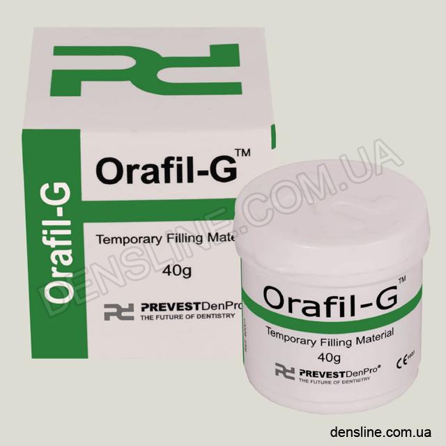 Безэвгенольный временный пломбировочный материал Orafil-G (Preves...