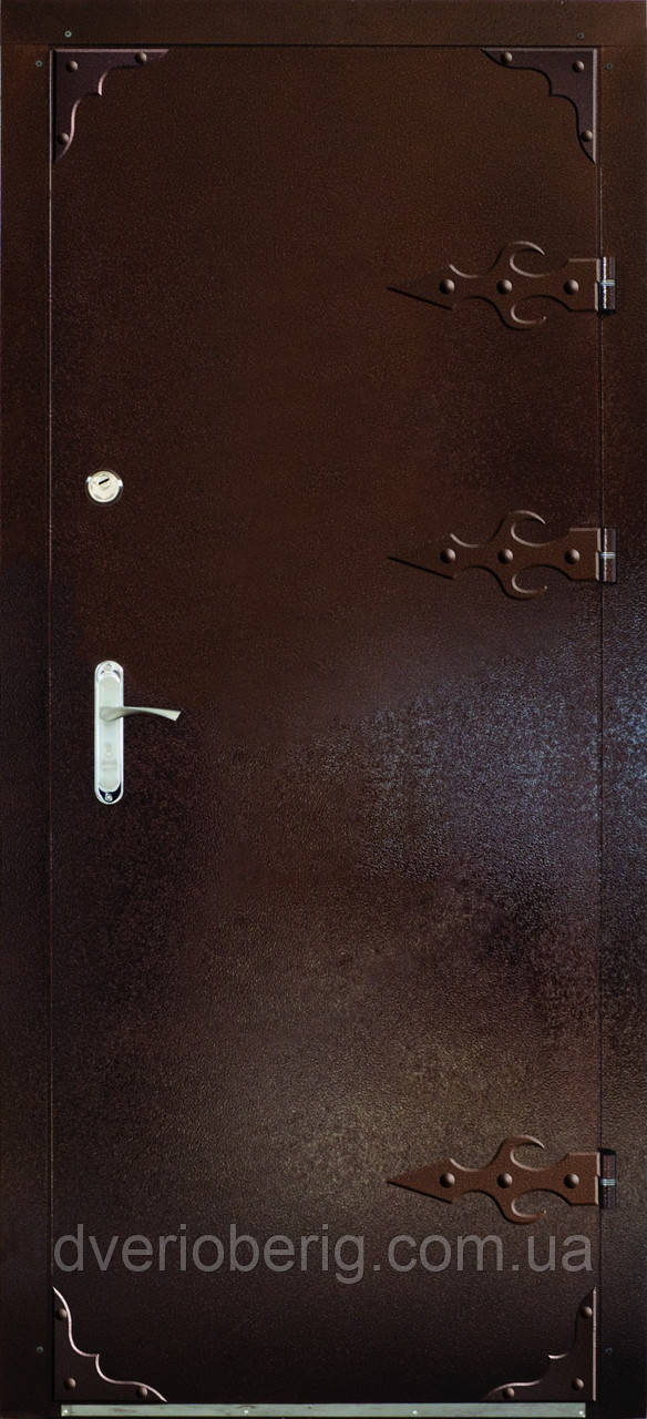 Входная дверь модель Метал/Мдф  Д-1