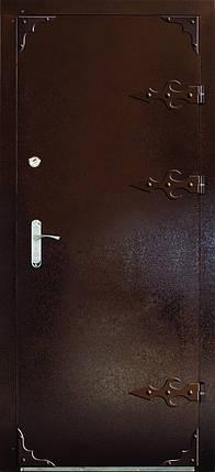 Входная дверь модель Метал/Мдф  Д-1, фото 2