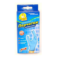 "Нитриловые перчатки Фрекен Бок 10 шт ""L"""