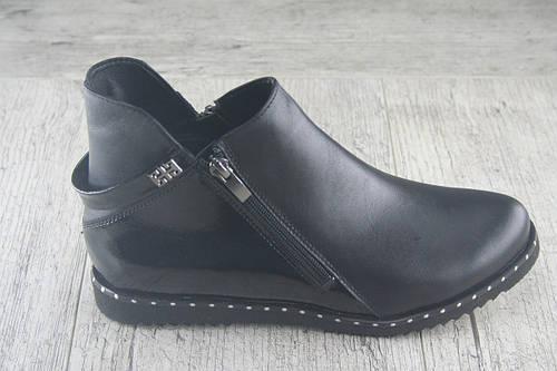 Ботинки, сапоги демисезонные Foot Step, обувь НАТУРАЛЬНАЯ, женская, повседневная, Украина