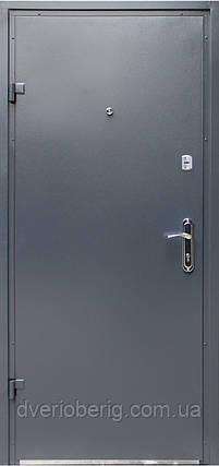 Входная дверь модель Метал/Мдф  Серая, фото 2
