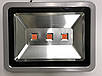 Светодиодный фитопрожектор SL-150 150W 3LED серый IP65 Код.59362, фото 2