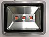 Світлодіодний фитопрожектор SL-150 150W 3LED сірий IP65 Код.59362, фото 2