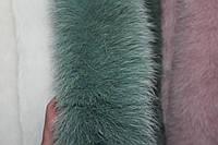 Двойная меховая опушка из песца 70 см, фото 1