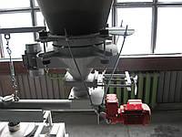 Монтаж технологического оборудования. Бункер карбону