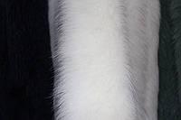 Двойная меховая опушка из песца 70 см