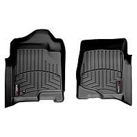 Коврики в салон для Cadillac Escalade 2007- с бортиком черные передние 440661
