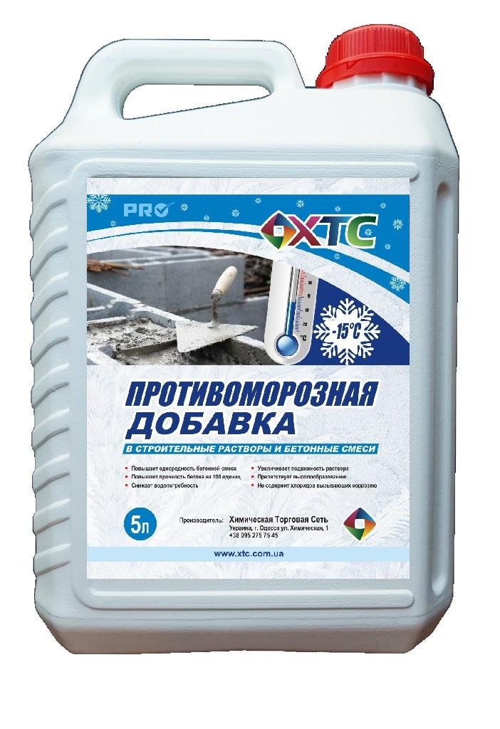 купить зимние присадки в бетон