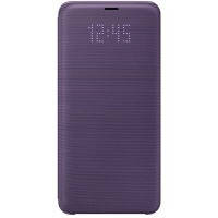 Чехол для сматф. SAMSUNG S9 - EF-NG960PVEGRU LED View Cover Orchid Gray