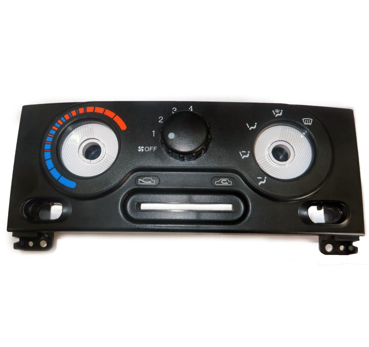 Блок клавіш керування грубкою з кондиціонером Lanos / Ланос (голий) GM, 96273730