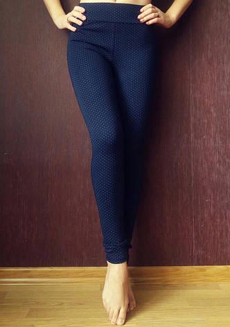 Трикотажные лосины женские №6 (норма), фото 2