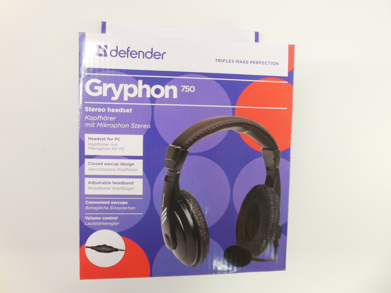 Наушники DEFENDER Gryphon HN-750 Black