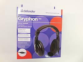 Навушники DEFENDER Gryphon HN-750 Black