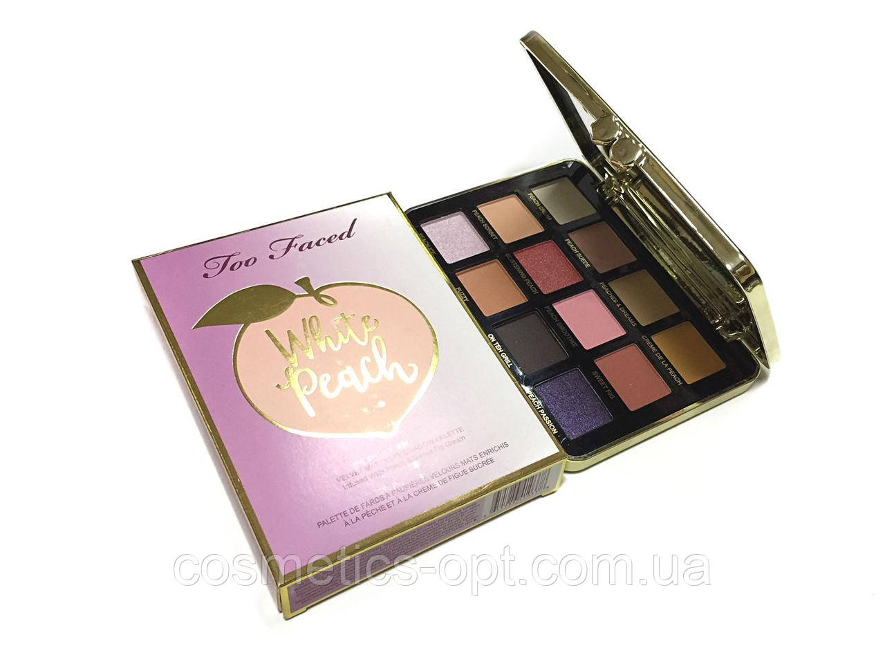 Тени для век Too Faced White Peach Eye Shadow Palette (реплика)