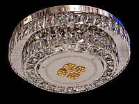 Хрустальный светильник потолочный с пультом 7080-7, фото 1