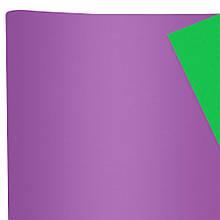 Бумага флористическая Сплошная сиреневая и зеленая