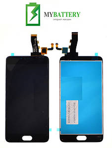 Дисплей (LCD) Meizu M3 Note (L681h) с сенсором черный